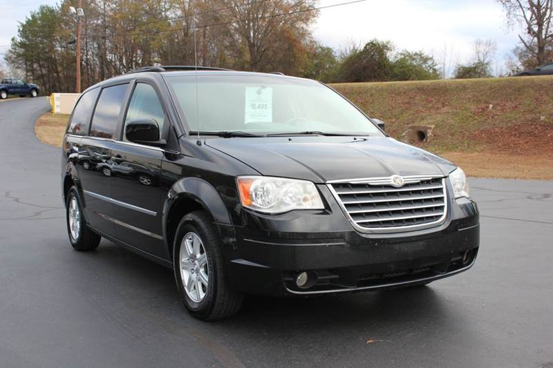 2010 CHRYSLER TOWN AND COUNTRY TOURING 4DR MINI VAN black baldwin automotive now has 2 locations