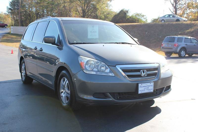 2007 HONDA ODYSSEY EX-L WNAVI WDVD 4DR MINI VAN A gray 4 year unlimited mileage bumper to bumper