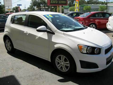 2014 chevrolet sonic for sale in pinellas park fl. Cars Review. Best American Auto & Cars Review