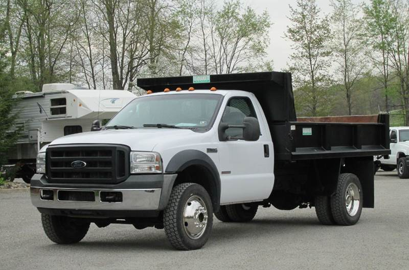2006 ford f 450 super duty xl regular cab 4x4 dump truck in home pa griffith auto sales. Black Bedroom Furniture Sets. Home Design Ideas