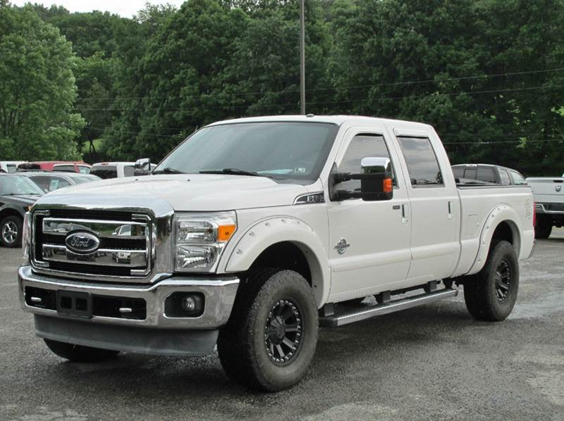2011 ford f 250 super duty 4x4 lariat 4dr crew cab 6 8 ft sb pickup in home pa griffith auto. Black Bedroom Furniture Sets. Home Design Ideas