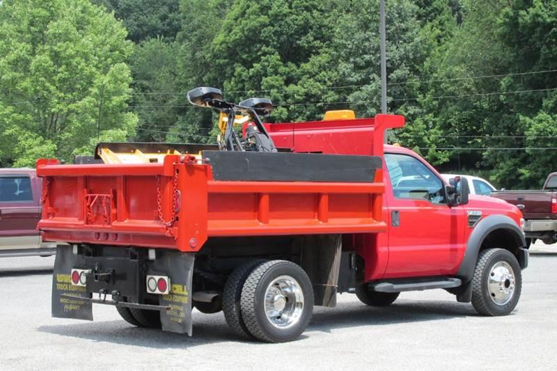 2009 ford f 550 super duty xl regular cab 4x4 dump truck. Black Bedroom Furniture Sets. Home Design Ideas