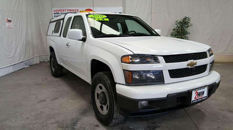 2010 chevrolet colorado 4x4 work truck 4dr extended cab in oakdale ca 2win auto sales inc. Black Bedroom Furniture Sets. Home Design Ideas