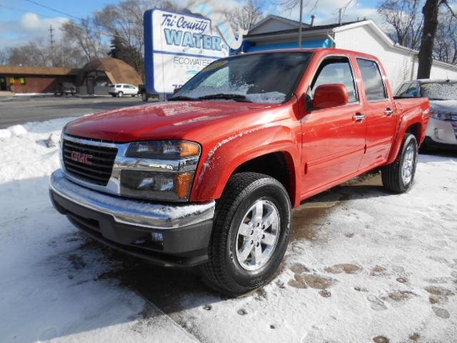 used 2012 gmc canyon sle 2 4x4 4dr crew cab in jackson mi at huff auto group. Black Bedroom Furniture Sets. Home Design Ideas