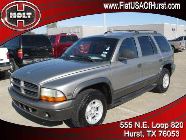 2000 DODGE DURANGO 4DR charcoal with its big-rig look  this durango looks ready  whether its head
