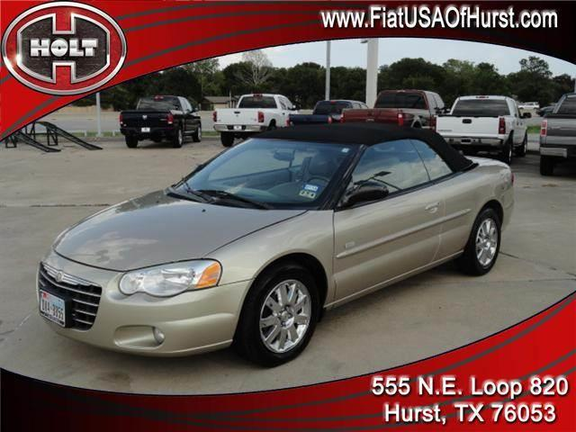 2005 CHRYSLER SEBRING 2DR TOURING gold nothing goes better with a beautiful autumn evening than a