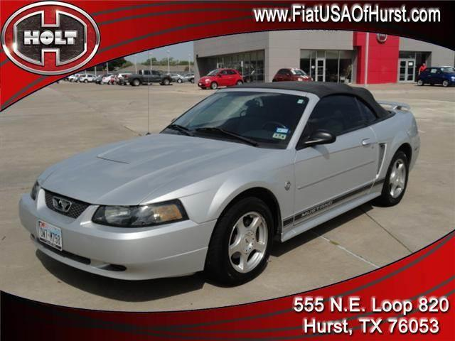 2004 FORD MUSTANG 40TH ANNIVESARY silver metallic this 2004 mustang celebrates 40 years of mustang