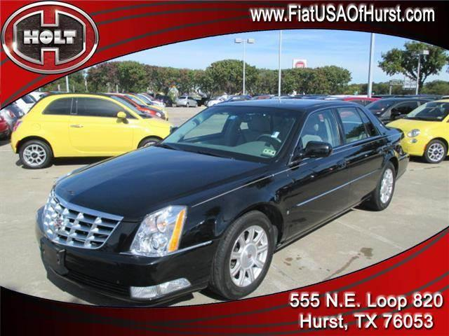 2008 CADILLAC DTS 4DR SDN W1SA black obsidian power  classy styling  quality and comfort this 0