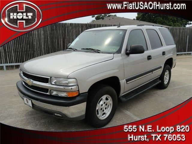 2005 CHEVROLET TAHOE 2WD pewter thank you for clicking our holt fiat of hurst store location  and