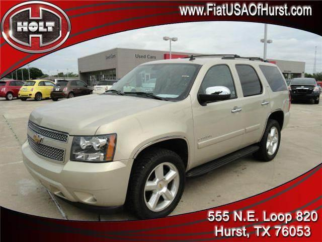 2008 CHEVROLET TAHOE LS 4WD gold holt chrysler fiat in hurst is pleased to offer this very nice go