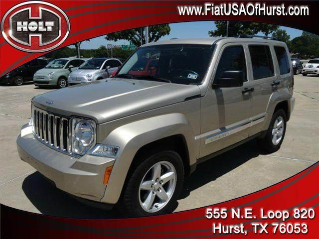 2011 JEEP LIBERTY 4WD 4DR LIMITED gold holt fiat in hurst is pleased to offer this very nice golde