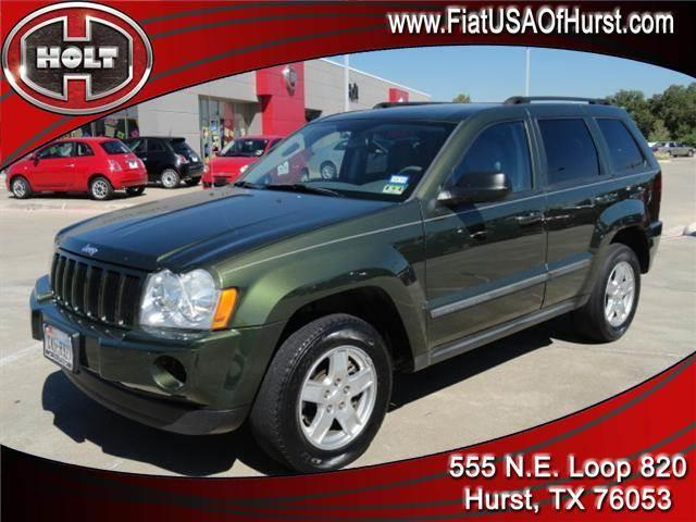 2007 JEEP GRAND CHEROKEE 2WD 4DR LAREDO jeep green metallic 2007 grand cherokee with rear-wheel dr