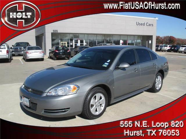 2009 CHEVROLET IMPALA 4DR SDN 35L LT charcoal luxury car meets sports sedan  big winwin for you
