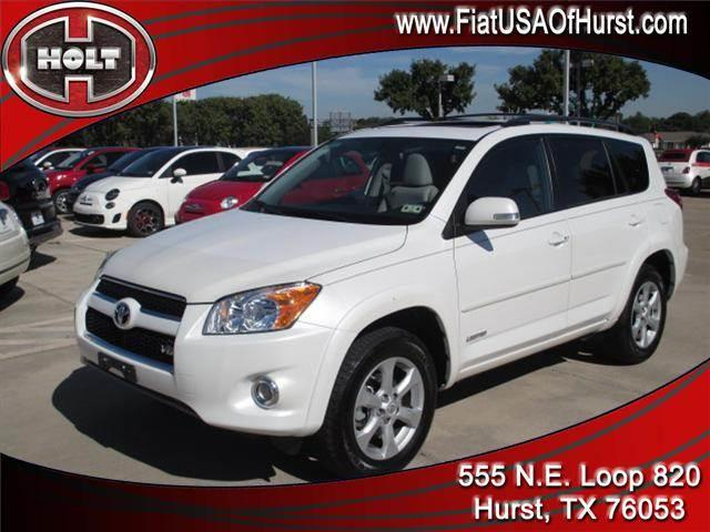 2012 TOYOTA RAV4 FWD 4DR V6 LIMITED white diamond this 2012 rav4 is a vehicle that offers responsi