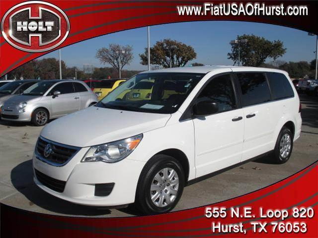 2010 VOLKSWAGEN ROUTAN 4DR WGN S calla lily white 2010 routan with s trim package  on board  ther