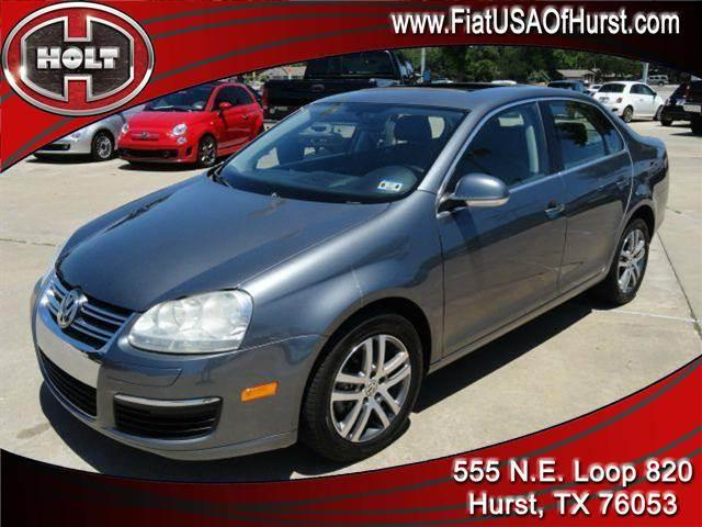 2006 VOLKSWAGEN JETTA 4DR 19L TDI DSG gray holt fiat in hurst is pleased to offer this very nice