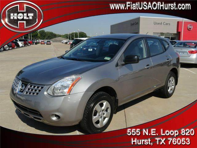 2009 NISSAN ROGUE S AWD gray top ten reasons to choose this 2009 nissan rogue awd   10- it s th