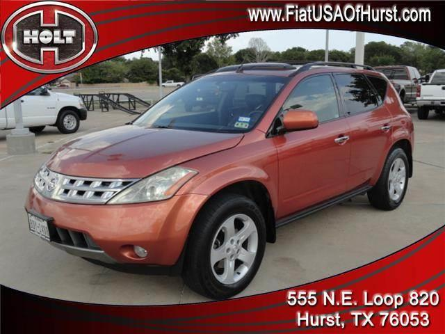 2004 NISSAN MURANO SL orange local trade-in  2004 nissan murano sl with leather interior and power