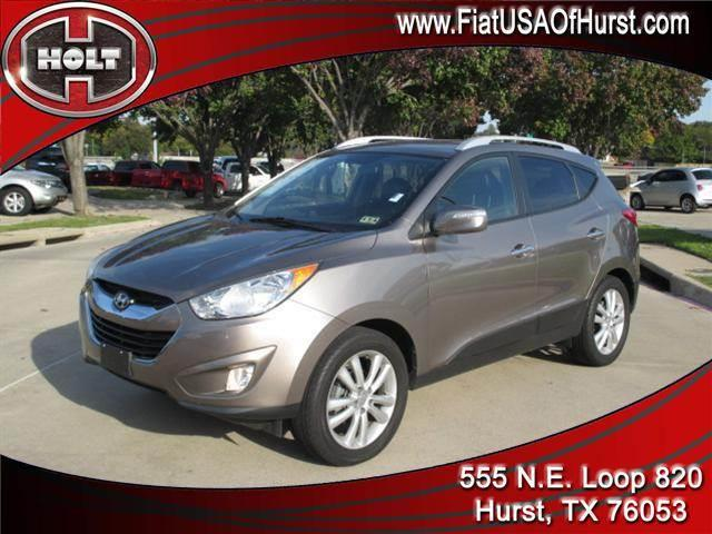 2010 HYUNDAI TUCSON LIMITED bronzed pewter theres so much to appreciate with this 2010 hyundai tu
