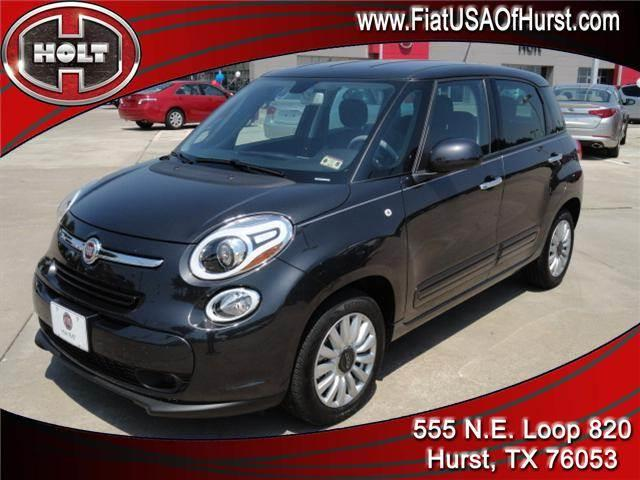 2014 FIAT 500L 5DR HB EASY gray holt chrysler fiat in hurst is pleased to offer this very nice gre