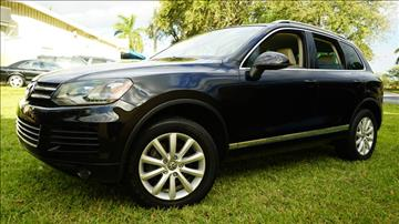2011 Volkswagen Touareg for sale in Lighthouse Point, FL