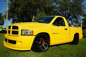 2005 Dodge Ram Pickup 1500 SRT-10 for sale in Lighthouse Point, FL