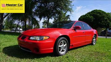 1999 Pontiac Grand Prix for sale in Lighthouse Point, FL