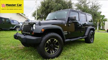 2012 Jeep Wrangler Unlimited for sale in Lighthouse Point, FL