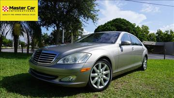 2007 Mercedes-Benz S-Class for sale in Lighthouse Point, FL