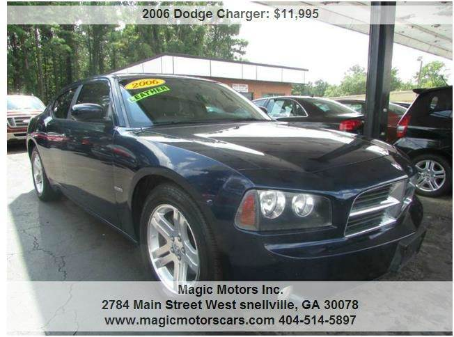 2006 dodge charger for sale in georgia. Black Bedroom Furniture Sets. Home Design Ideas