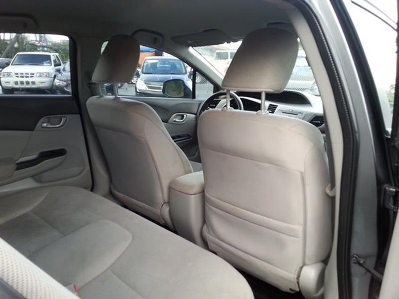 2012 Honda Civic LX 4dr Sedan 5A - Fort Lauderdale FL