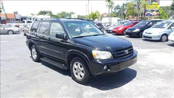 2006 Toyota Highlander for sale in Fort Lauderdale, FL