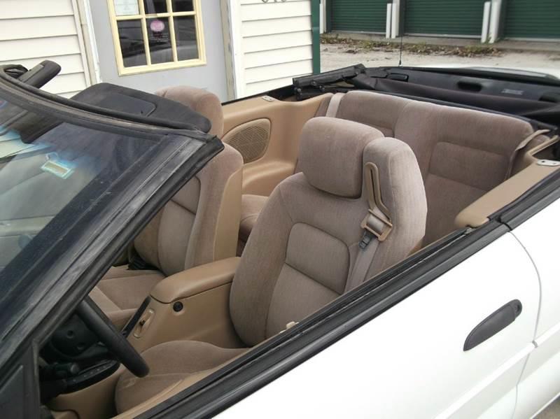 1999 Chrysler Sebring JX 2dr Convertible - Tekamah NE
