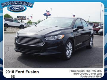 2015 ford fusion for sale michigan. Black Bedroom Furniture Sets. Home Design Ideas
