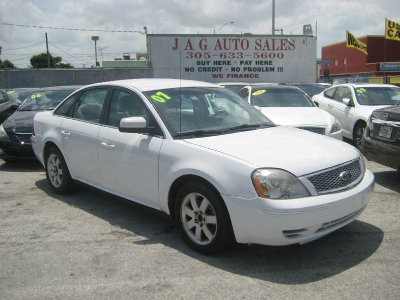 2007 ford five hundred sel 4dr sedan in miami fl j a g auto sales. Black Bedroom Furniture Sets. Home Design Ideas