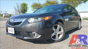 2013 Acura TSX for sale in Portsmouth, VA