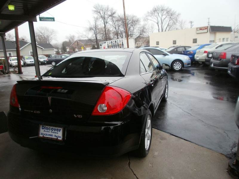 2008 Pontiac G6 4dr Sedan - Racine WI