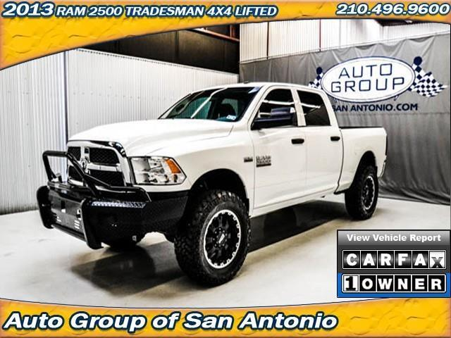Used 2013 ram ram pickup 2500 tradesman 4x4 lifted in san for A a motors san antonio tx