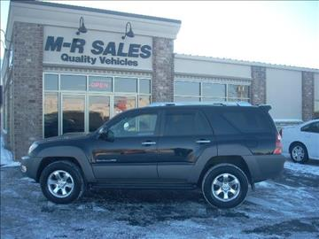2003 Toyota 4Runner for sale in Green Bay, WI