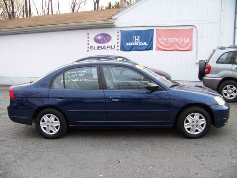 2003 honda civic lx 4dr sedan in vernon ct vernon motor cars. Black Bedroom Furniture Sets. Home Design Ideas