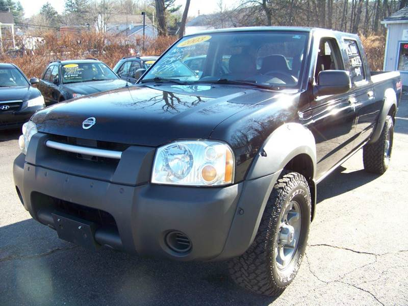 2003 nissan frontier 4dr crew cab xe v6 4wd lb in vernon. Black Bedroom Furniture Sets. Home Design Ideas