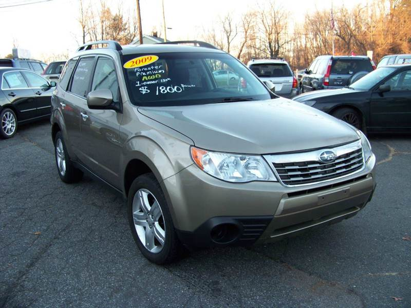 2009 subaru forester awd 2 5 x premium 4dr wagon 4a in vernon ct vernon motor cars. Black Bedroom Furniture Sets. Home Design Ideas