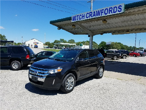 2014 Ford Edge & Ford Used Cars Pickup Trucks For Sale Raytown Mitch Crawfordu0027s ... markmcfarlin.com
