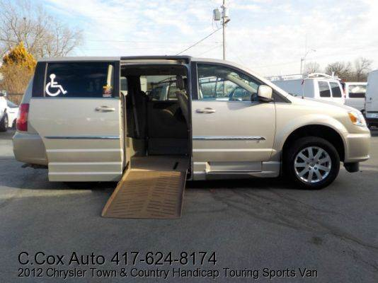 2012 Chrysler Handicap Town Country For Sale In Joplin MO