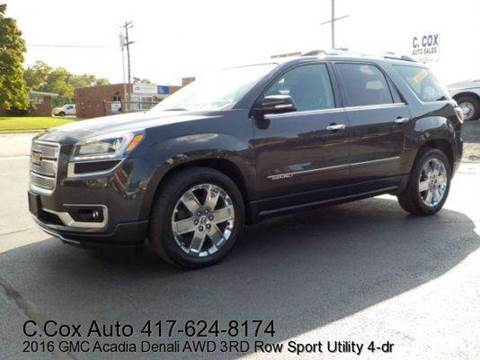 2016 GMC Acadia for sale in Joplin, MO