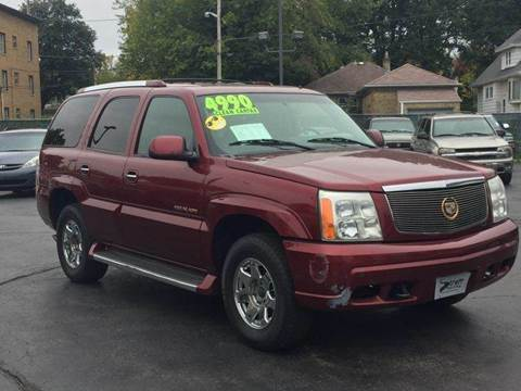 2002 Cadillac Escalade for sale in Milwaukee, WI