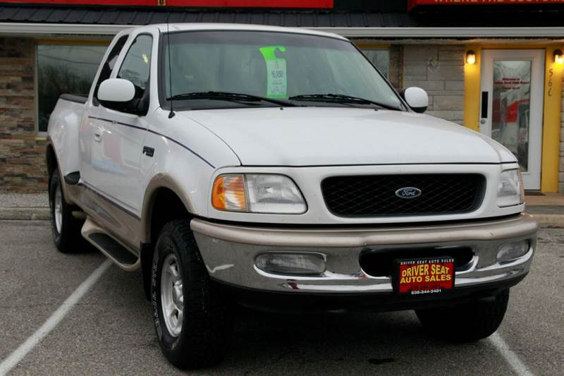 1997 Ford F-150 Lariat 3dr 4WD Extended Cab Stepside SB - St. Charles MO