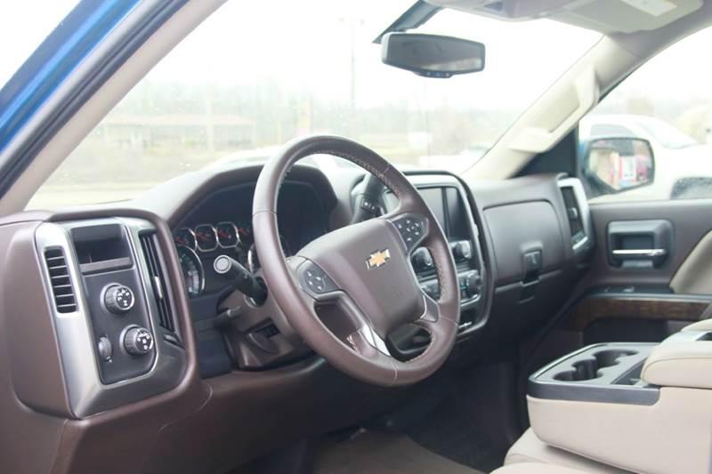2015 Chevrolet Silverado 1500 4x4 LT 4dr Crew Cab 5.8 ft. SB - St. Charles MO