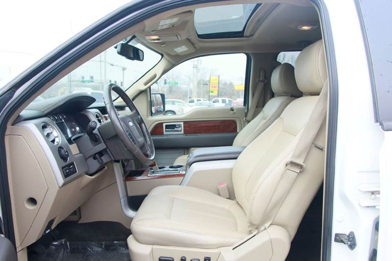 2010 Ford F-150 4x4 Lariat 4dr SuperCrew Styleside 5.5 ft. SB - St. Charles MO