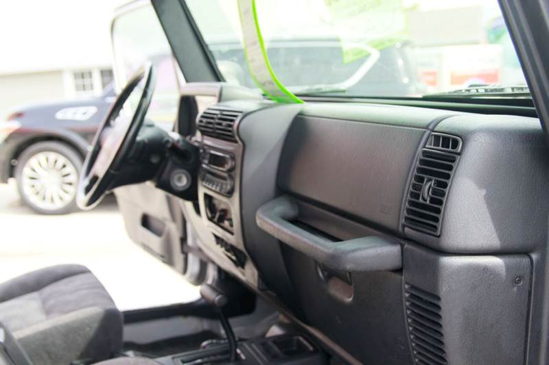 2003 Jeep Wrangler Sport 2dr 4WD SUV - St. Charles MO